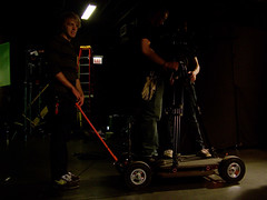 Dolly (AHummons Photography) Tags: lighting light film students shoot noir shot low setup dolly cinematography aprilhummonsphotography