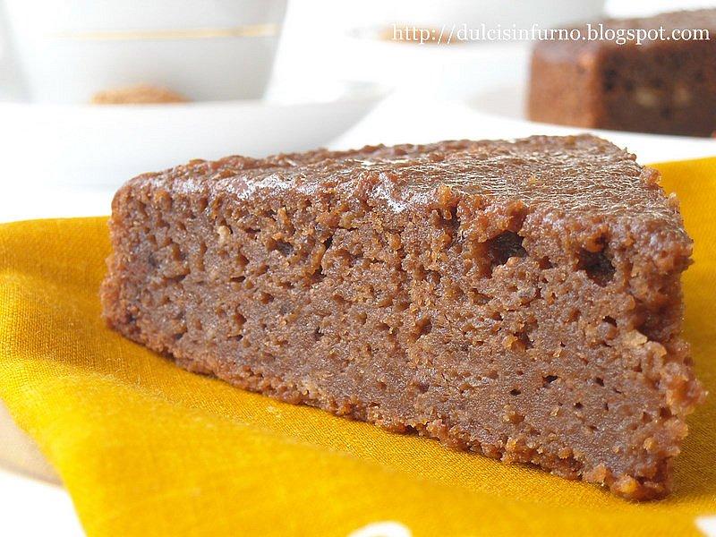 Torta di Zucca e Cacao-Pumpkin and Cocoa Cake
