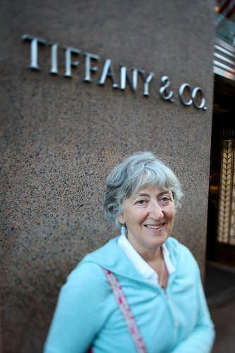 Sue at Tiffany & Co