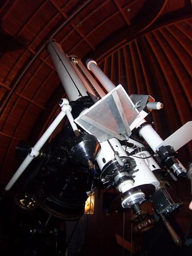 En el Observatorio Stĕfánik