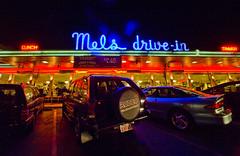Once Upon a Time (Thomas Hawk) Tags: sanfrancisco california usa car night restaurant automobile neon unitedstates unitedstatesofamerica rodeo mels melsdrivein isuzu gearystreet