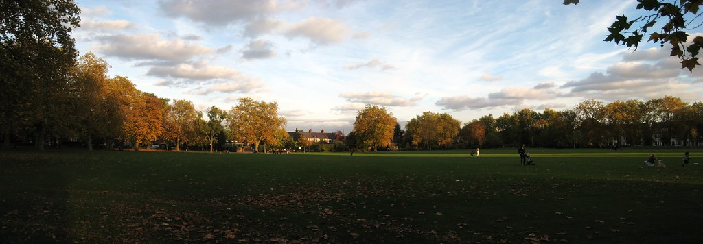 Queen's Park panorama