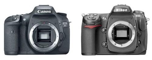 Canon 7D vs Nikon D300