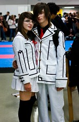 Chibi Japan Expo 2009 - Kurosu Yuuki & Kuran K...