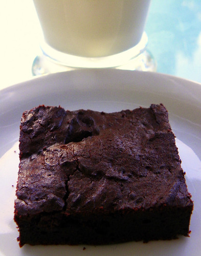 All American Fudge Brownie With Milk