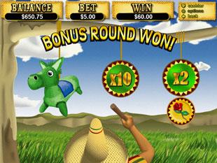 free Jackpot Pinatas slot bonus game