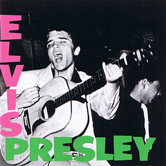 """Elvis Presley"" cover art, 1957"