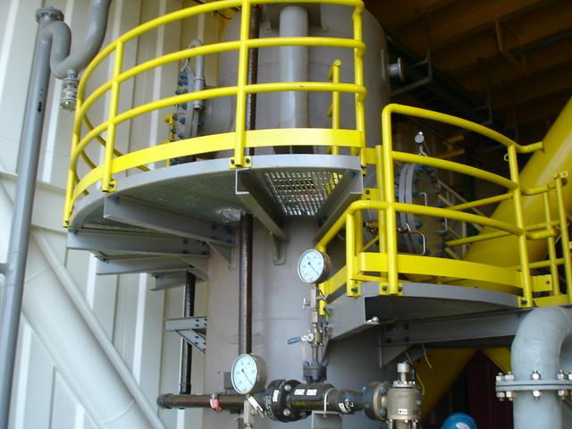 Deaerator system Installed at platform by VME Process