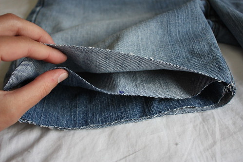 Step 7: Slip the Cuff Inside the Shorts