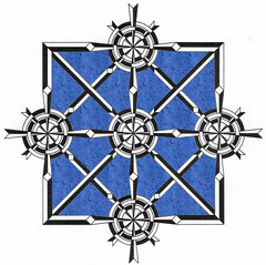 squarecircleweave (Marguerite1997) Tags: geometric composition diamonds grid squares circles symmetry autocad balance depth weaves zentangles zentanglepattern zentangleinspiredart zentanglegreetingcards