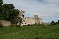 2010-09-05 Sweden, Gotland, Visby - Saddles were added later to provide additional space along the top (Travel With Olga) Tags: city church island sweden churches medieval ramparts gotland viking merchant visby stmarys hanseatic 1525 stlars nationalgeographicexplorer