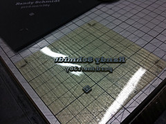 Letterpress Production Photos