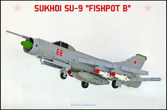 Sukhoi Su-9 interceptor (scale 1/48). (John Lamarck) Tags: fighter lego jet russian coldwar interceptor sukhoi fishpot su9 su11