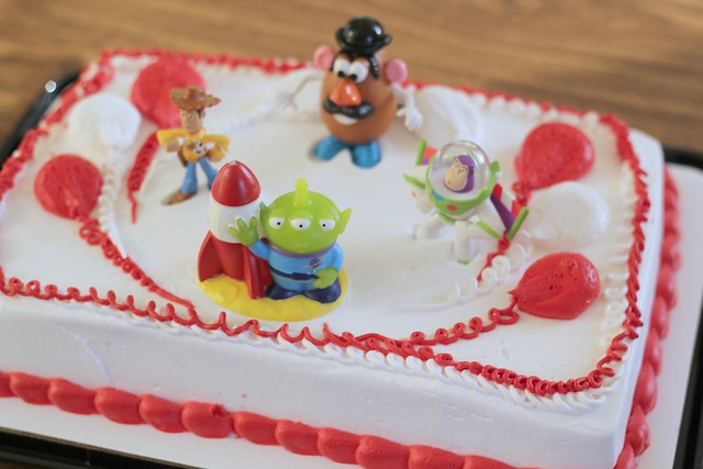 John's Toy story Cake