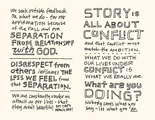 Storyline Conference 2011 Sketchnotes: 33-34