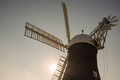 York Windmill (Backlit)