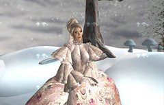 Wintering with magic (Star Rose) Tags: snow globe magic secondlife