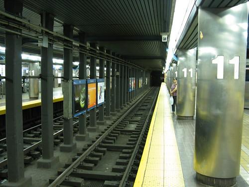 SEPTA Blue Line 11th Street Station