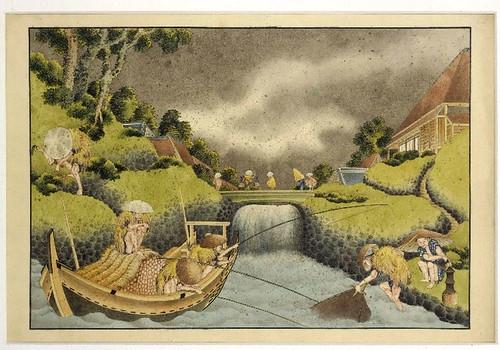 011- Pescadores bajo la lluvia