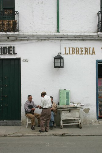 Popayán street scene...