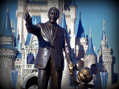 Partners Statue (Samantha Decker) Tags: world lake castle cindy digital mouse orlando florida ps disney mickey disneyworld vista handheld pointandshoot fl cinderella waltdisneyworld walt magical themepark compact partners buena happiestplaceonearth sunshinestate waltereliasdisney startedbyamouse wheremagiclives samanthadecker