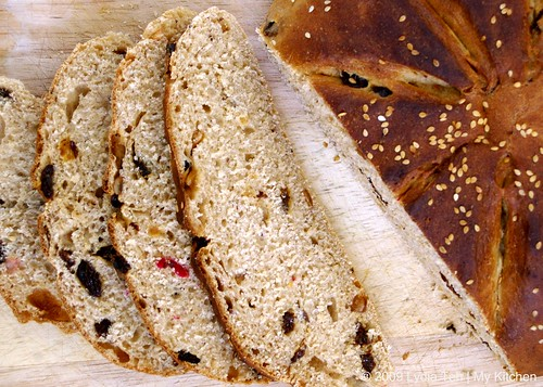 Mixed Fruit-Oat Loaf