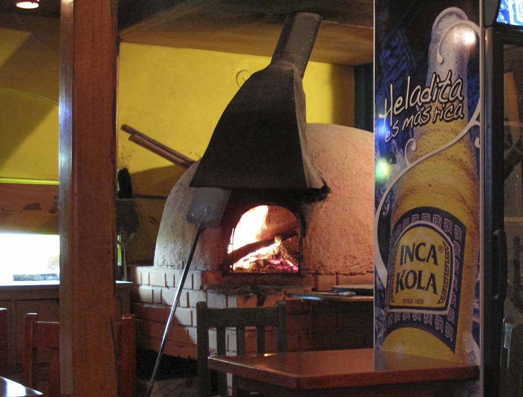 Terra Cotta wood burning oven, Cuzco