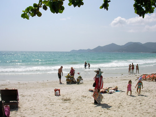 Koh samui Evergreen resort beach1