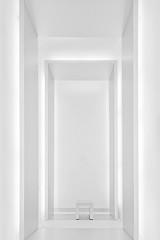 make yourself comfortable (herbstkind) Tags: white architecture munich münchen deutschland chair seat bmw architektur minimalism musem mnchen