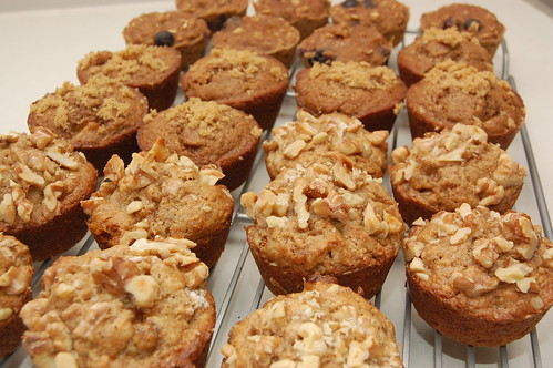 Banana Nut, Oatmeal Blueberry Applesauce Muffins, Whole Wheat Apple Muffins