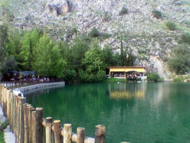 Κρήτη - Ηράκλειο - Δήμος Ζαρού Η λίμνη