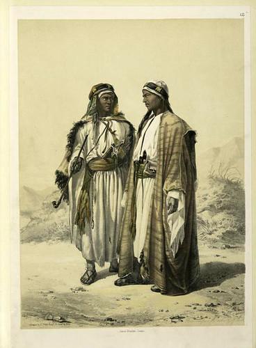 Beduinos en los alrededores de Suez 1851