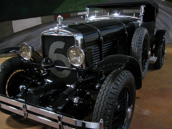 1929 Stutz Supercharged (Click to enlarge)
