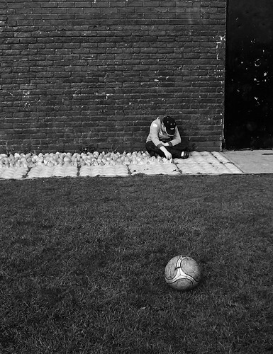 Saturday Afternoon Kick-About: Half Time. 38 of 365.