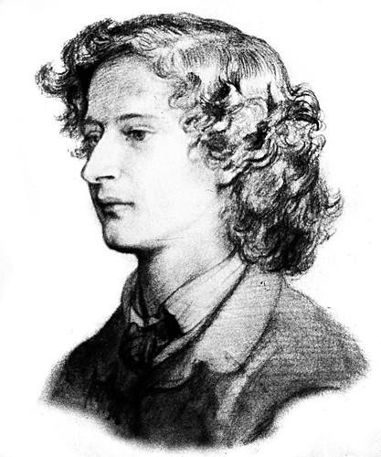 Algernon_Charles_Swinburne_sketch, Dante Gabriel Rossetti
