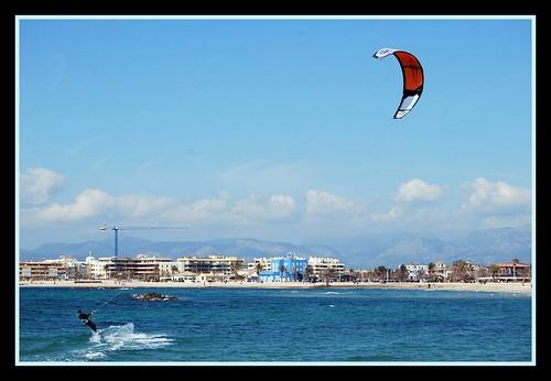 Kite Surfing por pablo y marta.