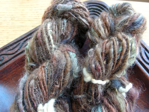 Handspun in the Rough