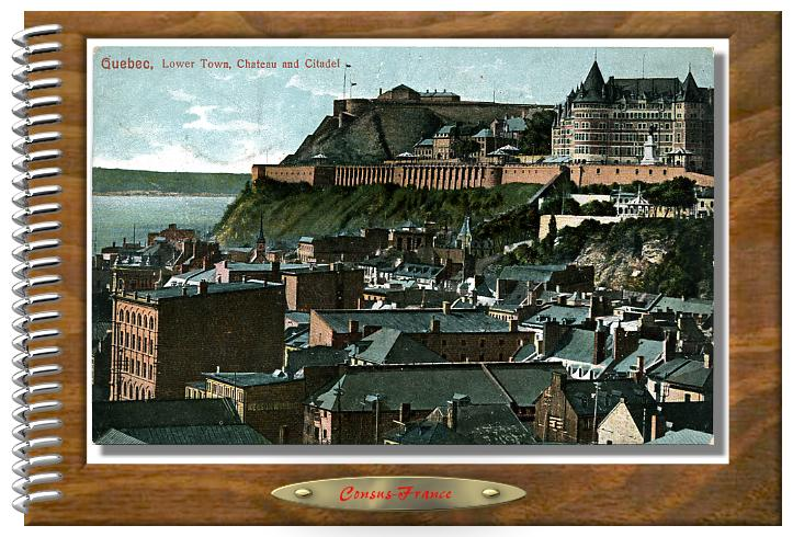 Quebec, Lower Town, Chateau Citadelle