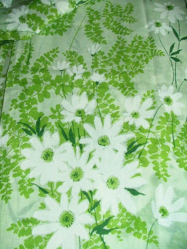 Vintage Green Cafe Curtains