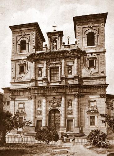 Plaza del Padre Juan de Mariana (Toledo). Foto Abelardo Linares hacia 1915.