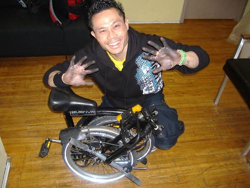 Greasy Biker