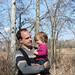 Alex Coy with Daddy