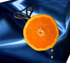 orange juice (krapzapper) Tags: newzealand orange strange weird key pentax juice odd clockworkorange nz orangejuice satin 3dframe k200d krapzapper