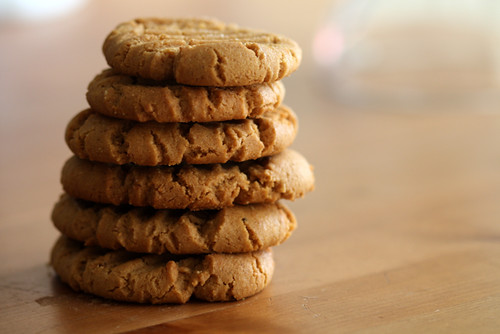 Healthy peanut butter cookie recipe easy