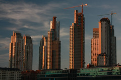 Brave New World (rackyross) Tags: sunset urban argentina america buildings puerto atardecer edificios tramonto secondchance buenos aires south cities ciudad ciudades madero citt sudamerica edifici   flickraward