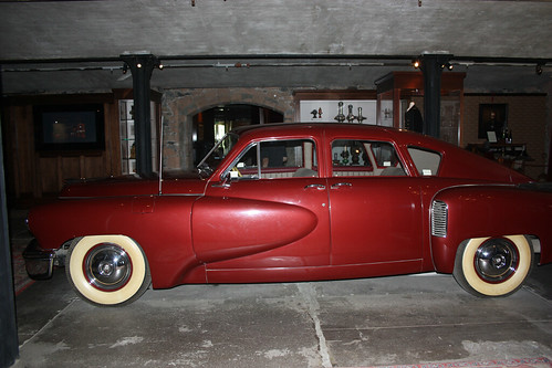 The car from the movie Tucker