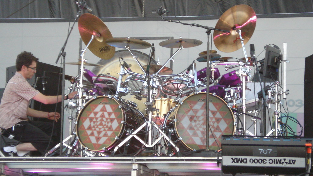 Danny Carey Using Roto Toms For High Toms Page 3