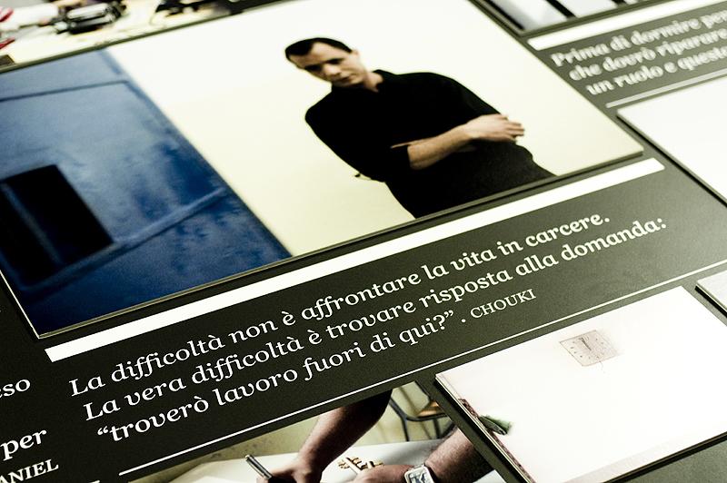 Il carcere nobilita l'uomo. Exhibition.