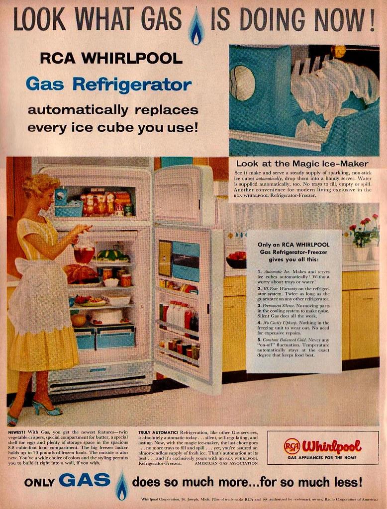 RCA Whirlpool Refrigerator Ad