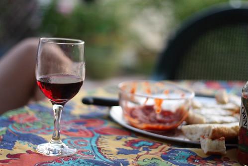 appetizer & wine